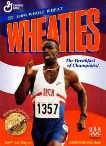 1996 Olympics Michael Johnson Wheaties