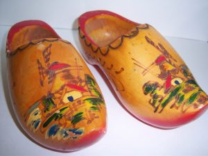 Traditional wooden clog