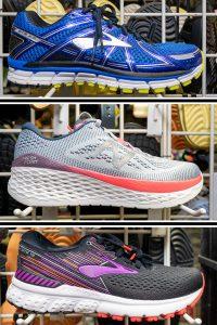 Running Shoes by New Balance and Hoka
